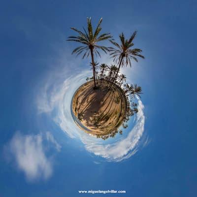 fotografia 360 grados de playa