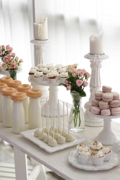 Mesa dulce de boda.