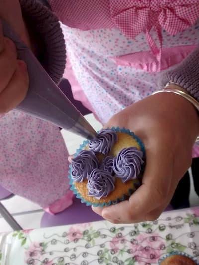 Decoración de cupcakes.
