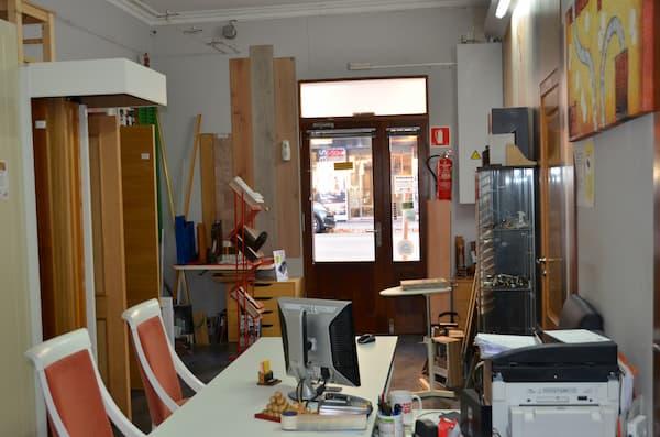 Interior de carpintería.