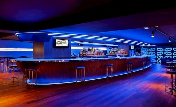 Barra de bar LED.