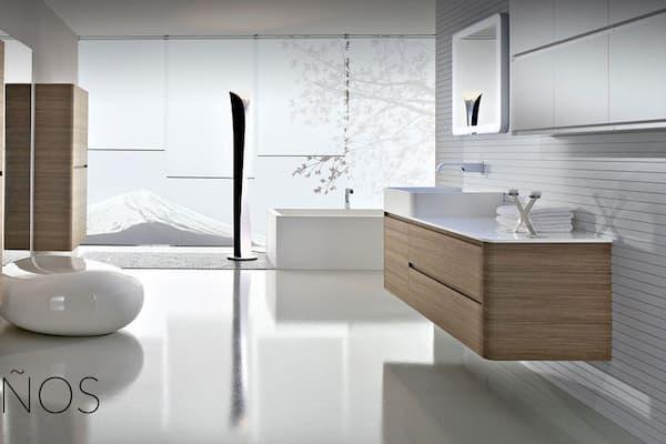 Baño moderna.