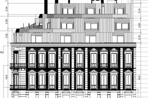 Plano de arquitectura.