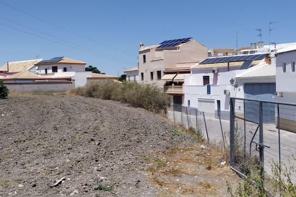 Casas con paneles fotovoltáicos.