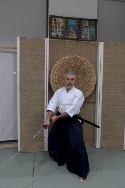 Hombre con katana.